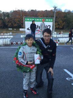 石野SLカート最終戦 シリーズチャンピオン